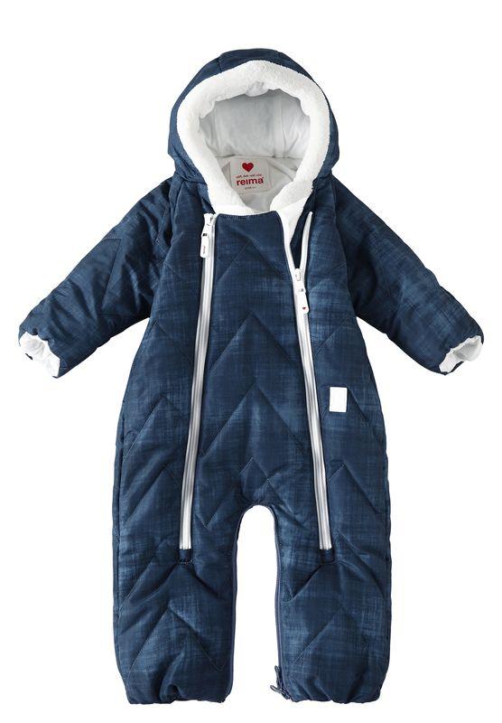 Nalle Reima detsky zimny vodeodolny spaci vak a overal pre babatka modry