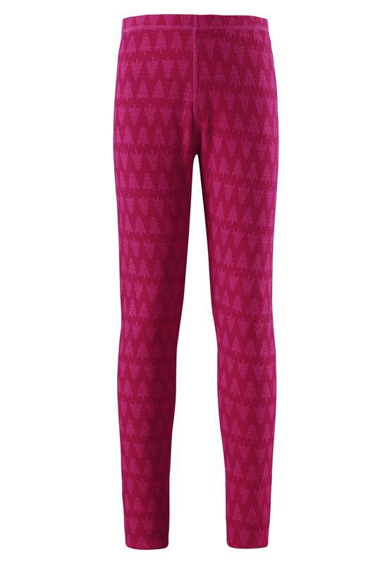 Taival Reima dievcenske vlnene termopradlo ruzove nohavice