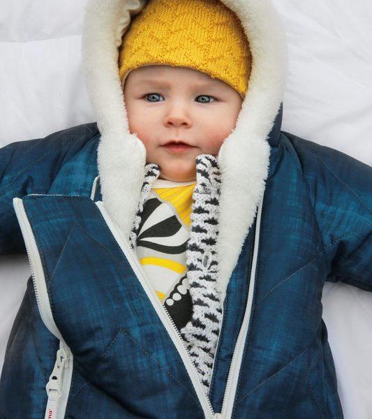 Nalle Reima detsky zimny vodeodolny spaci vak a overal pre babatko