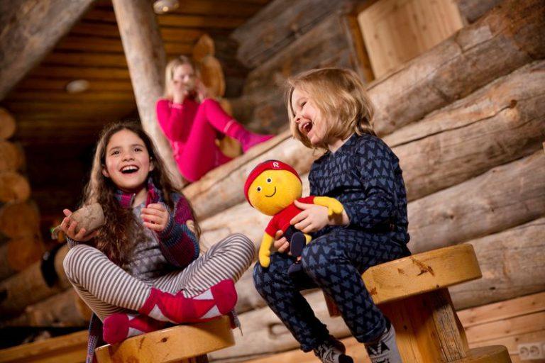 Taival Reima detske vlnene termopradlo modre ruzove deti