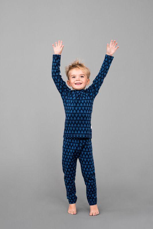 Taival Reima chlapcenske zimne vlnene termopradlo modre