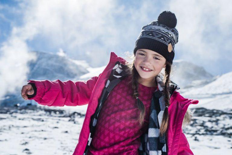 Taival Reima detske dievcenske vlnene termopradlo ruzove