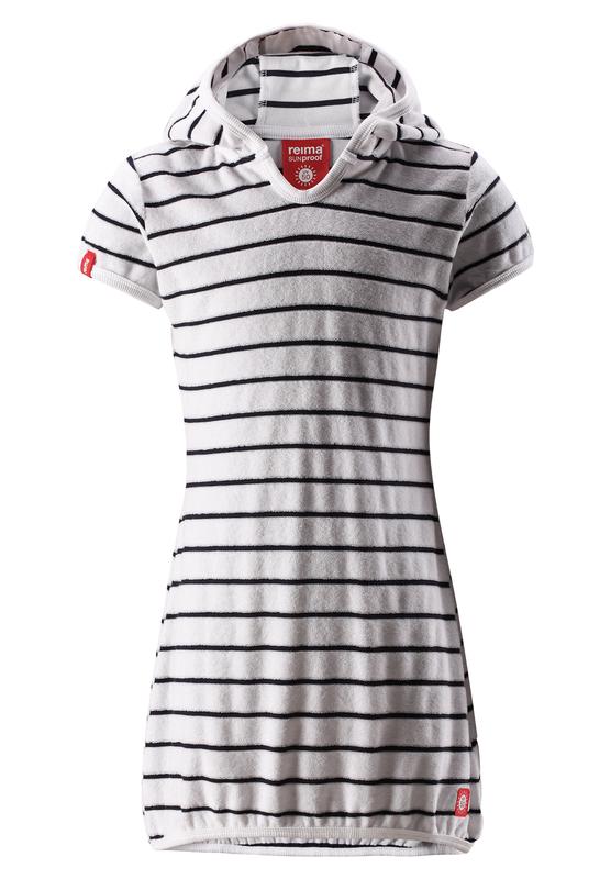 dievčenské froté šaty s UV ochranou proti slnku