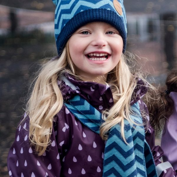 Modrá detská čiapka Reima Kolmio