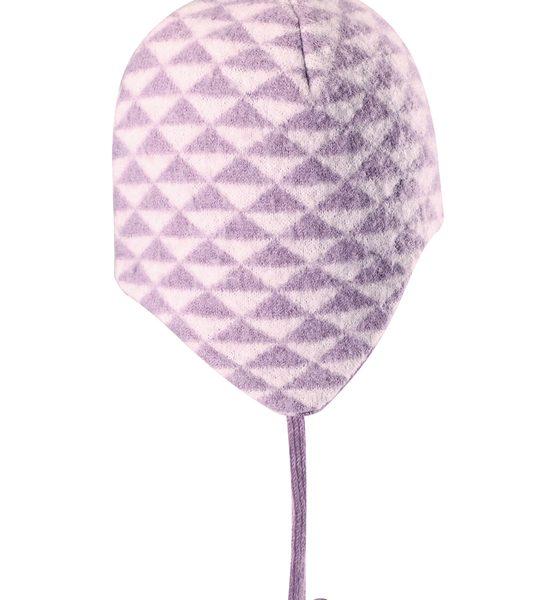 Ružová dievčenská čiapka Reima Kauris