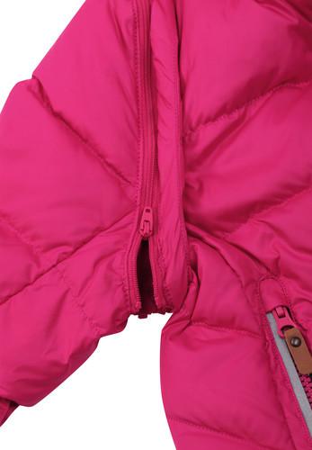Dievcenska paperova bunda s odnimatelnymi rukavmi