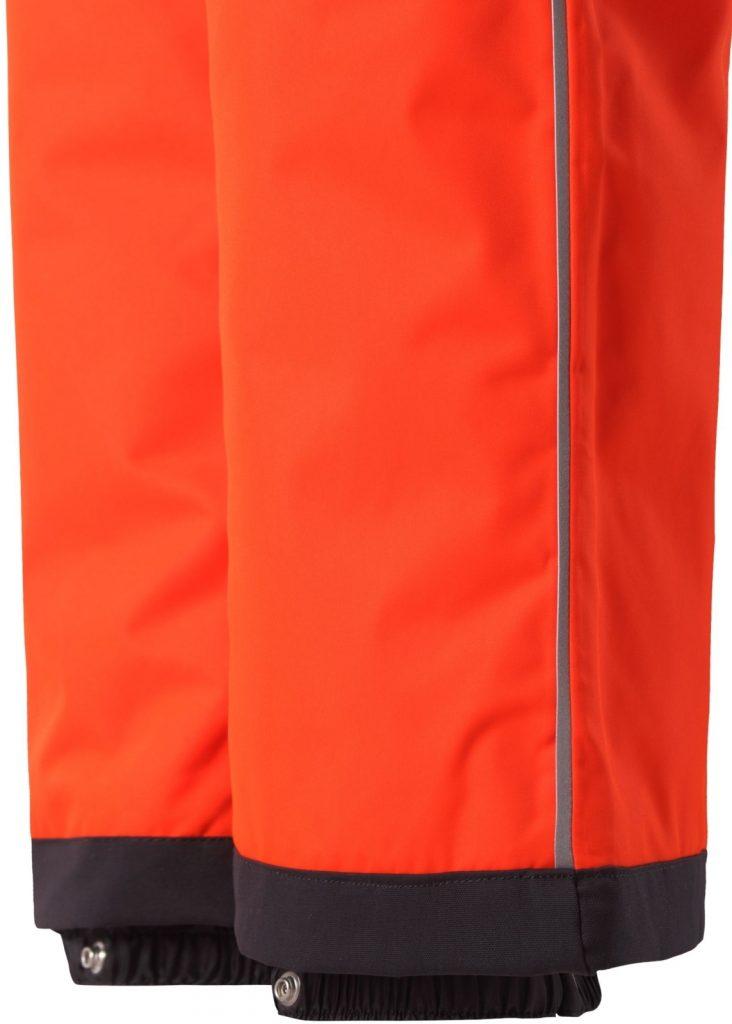 Reima Wingon oranzove detske lyziarske nohavice