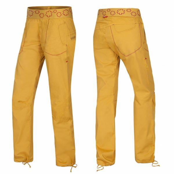 Ocun Pantera Yellow zlte lezecke nohavice