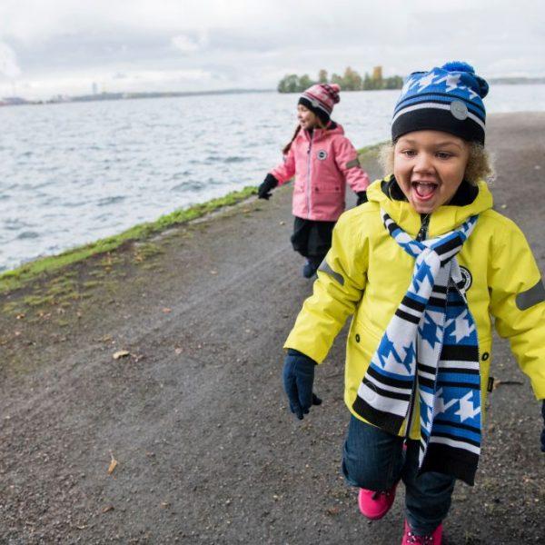 Reima Sydkap zimna nepremokava detska zlta bunda 104 110 116 122 128 134