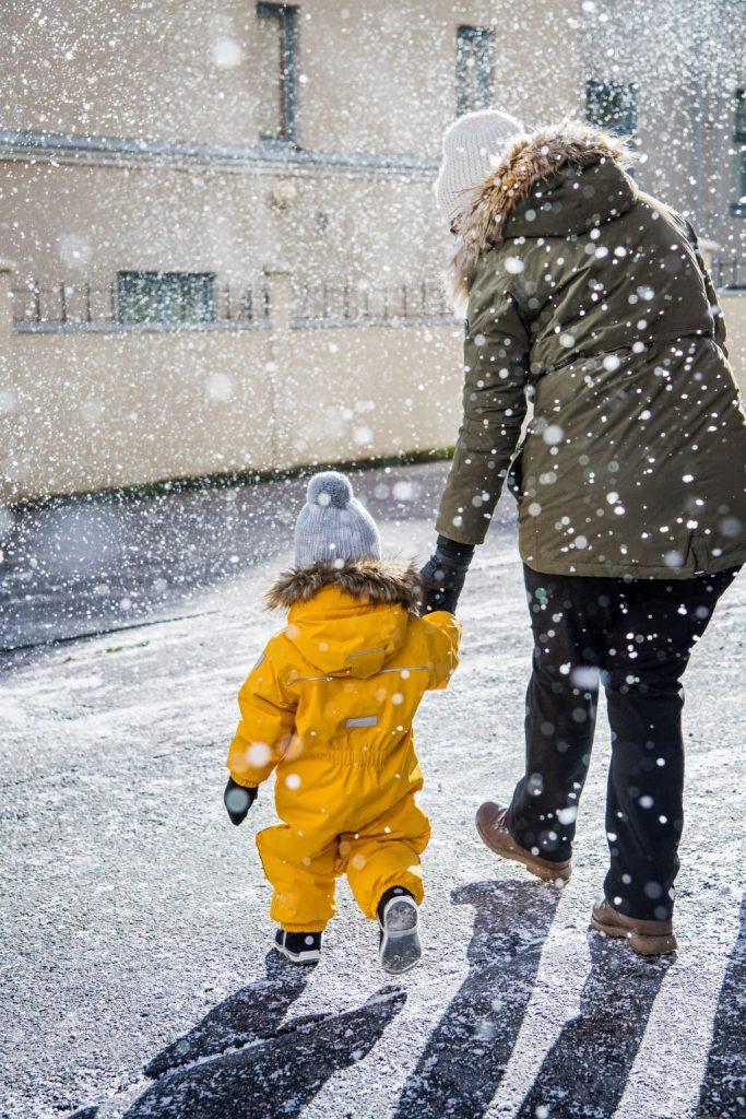 Reima Gotland zlta zimna detska kombineza