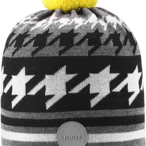 Reima Kohva siva chlapcenska zimna vlnena ciapka
