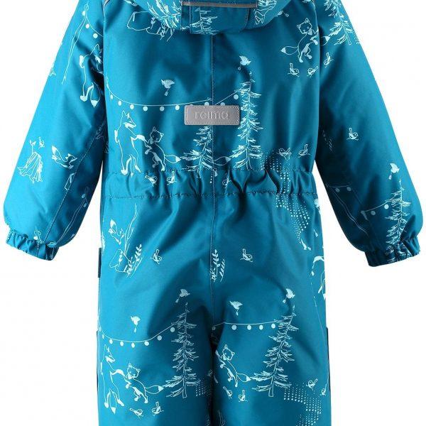 Reima Lappi - Dark Sea detsky modry nepremokavy zimny overal s membranou