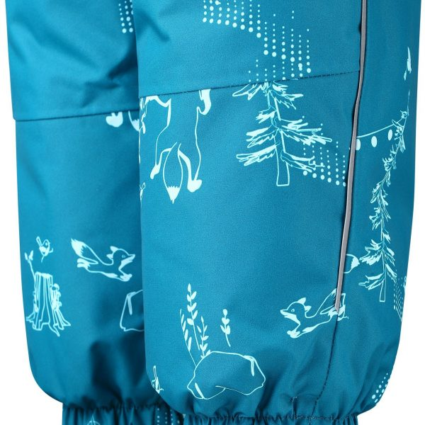 Reima Lappi - Dark Sea detsky modry nepremokavy zimny overal