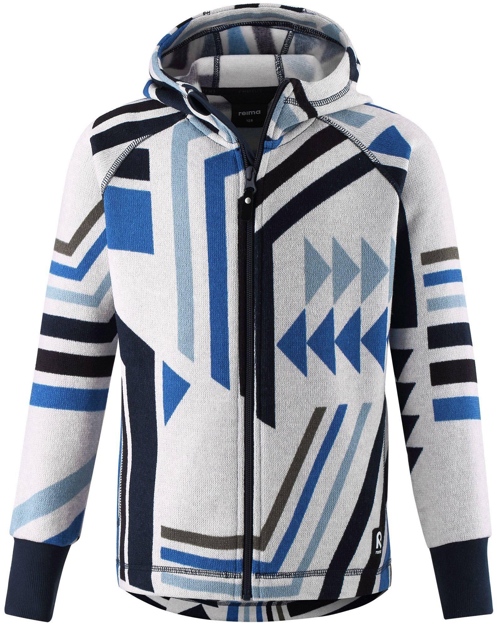Reima Northern - Marine Blue detsky chlapcensky fleecovy sveter 104 110 116 122 128 134