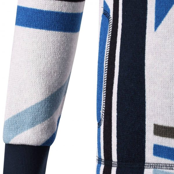 Reima Northern - Marine Blue detsky chlapcensky lyziarsky fleecovy sveter 104 110 116 122 128 134