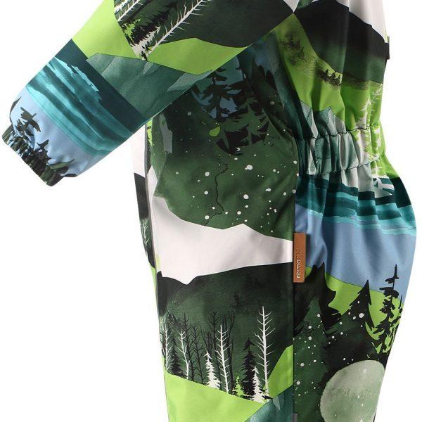 Reima Puhuri dark green chlapcensky zimny vodeodolny overal