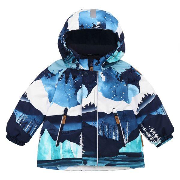 Reima Ruis - Navy chlapcenska zimna vetrovka