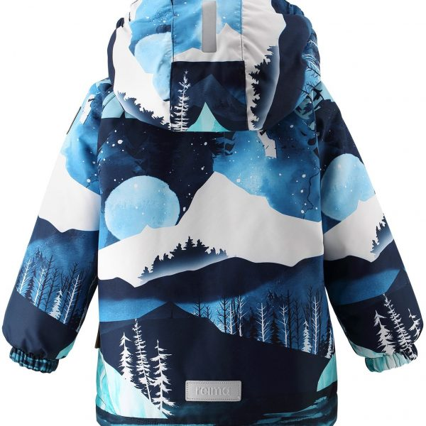 Reima Ruis - Navy modra zimna chlapcenska bunda 80 86 92 98