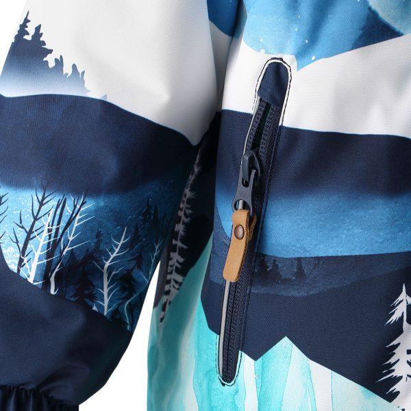Reima Ruis - Navy zimna bunda pre chlapca 80 86 92 98
