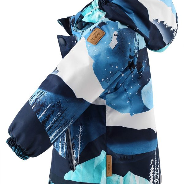 Reima Ruis - Navy zimna chlapcenska nepremokava bunda