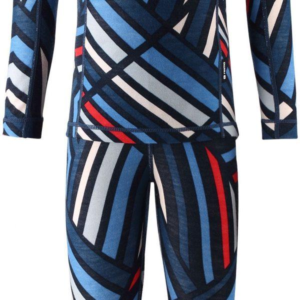 Reima Taitoa - Navy vlnene termopradlo pre chlapca