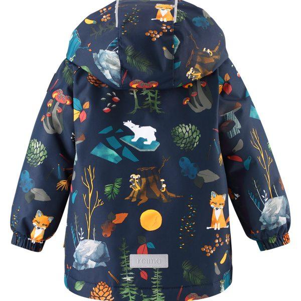 Reima Antamois - Navy detska zimna nepremokava bunda 80 86 92 98 104 pre chlapca