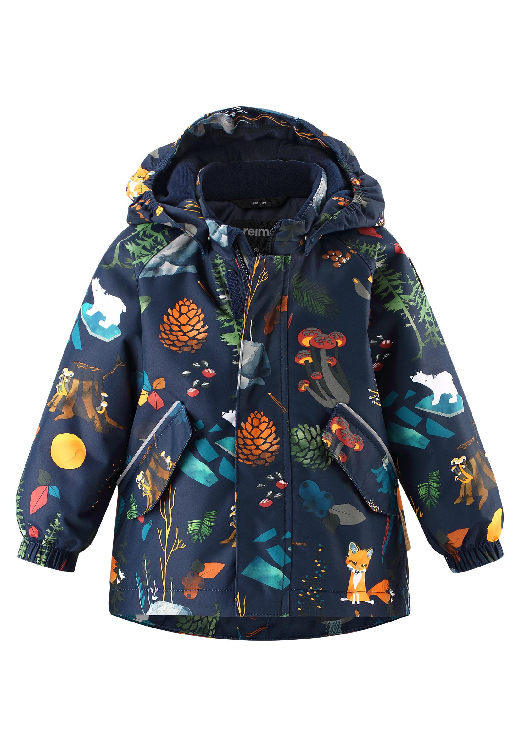 Reima Antamois - Navy detska zimna nepremokava bunda