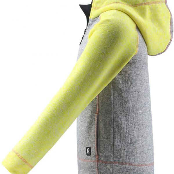 Reima Lively Melange grey detsky dievcensky lyziarsky sveter