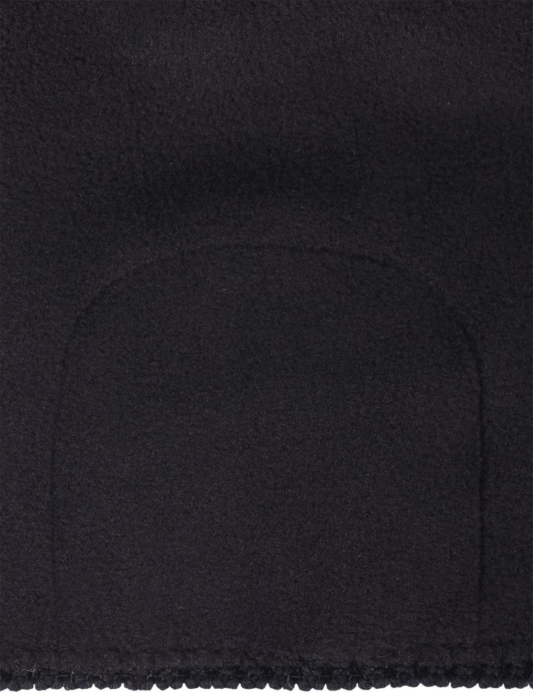 eima Nyksund - Black merino vlnena detska ciapka cierna