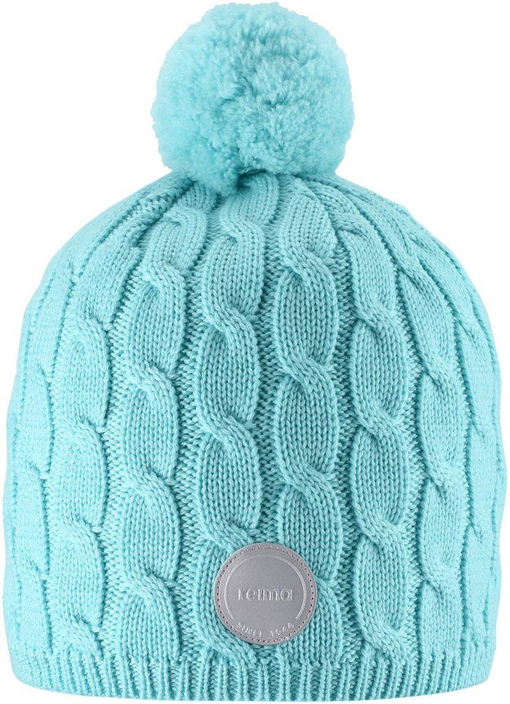 Reima Nyksund - Light Turquoise dievcenska merino zimna ciapka