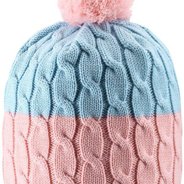 Reima Nyksund - Powder pink detska dievcenska merino ciapka