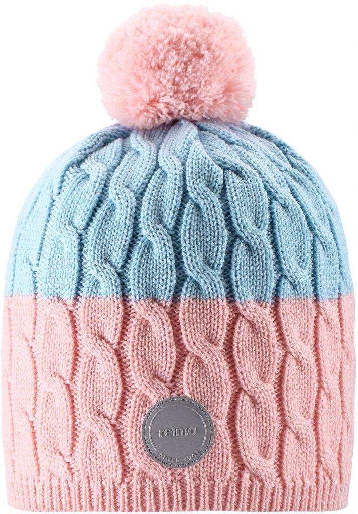 Reima Nyksund - Powder pink dievcenska merino ciapka 48 50 52 54