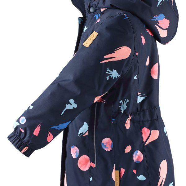 Reima Toki - Navy dievcenska znackova zimna bunda
