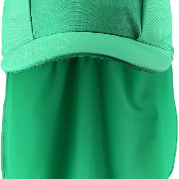 Reima Turtle - Green detska siltovka s ochranou krku proti slnku