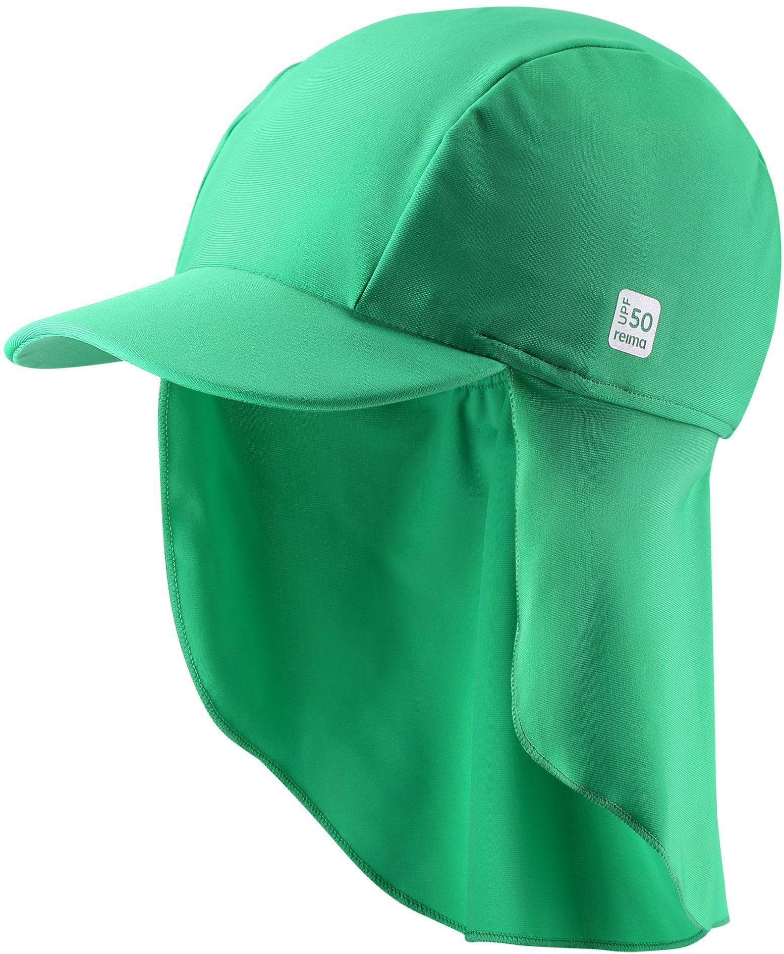 Reima Turtle - Green klobuk na kupanie s ochranou krku