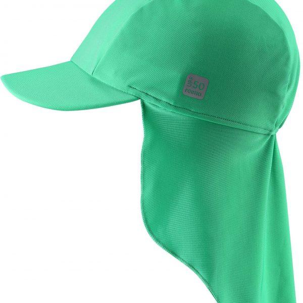 Reima Turtle - Green siltovka s ochranou krku s UV 50+