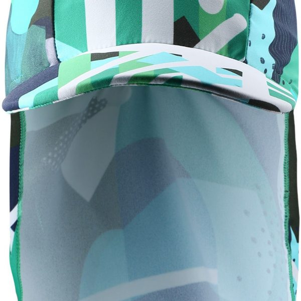 Reima Turtle - Jungle green detsky klobuk s UV ochranou 50+
