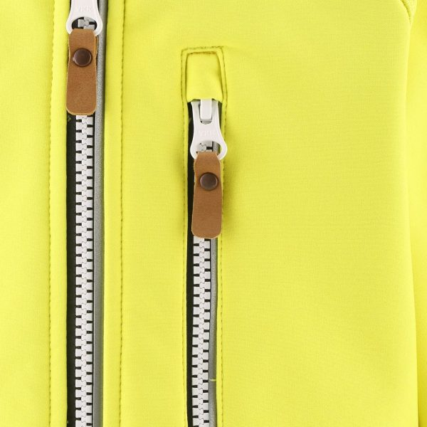 Reima Vantti - Lemon Yellow detska softshelova bunda 98 104 110 116 122 128