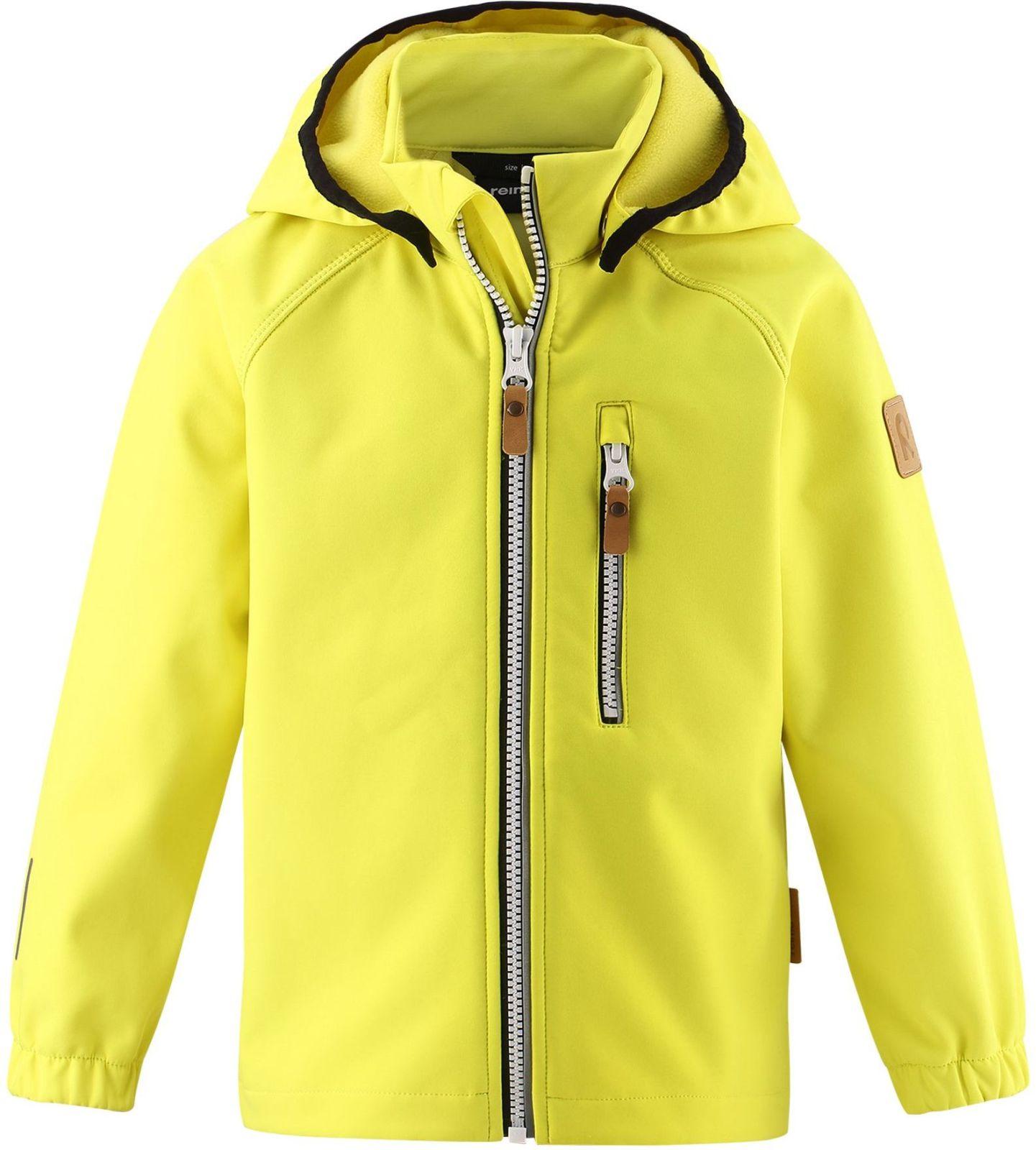 Reima Vantti - Lemon Yellow detska softshellova bunda