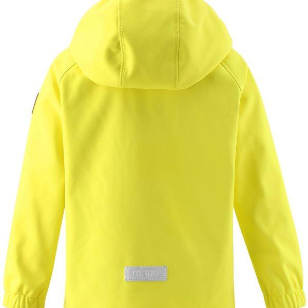 Reima Vantti - Lemon Yellow detska unisex softshellova bunda