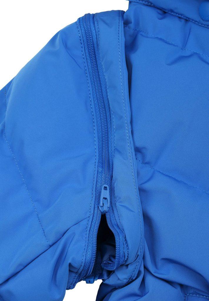 Reima Beringer detska chlapcenska zimna paperova bunda a vesta 2v1