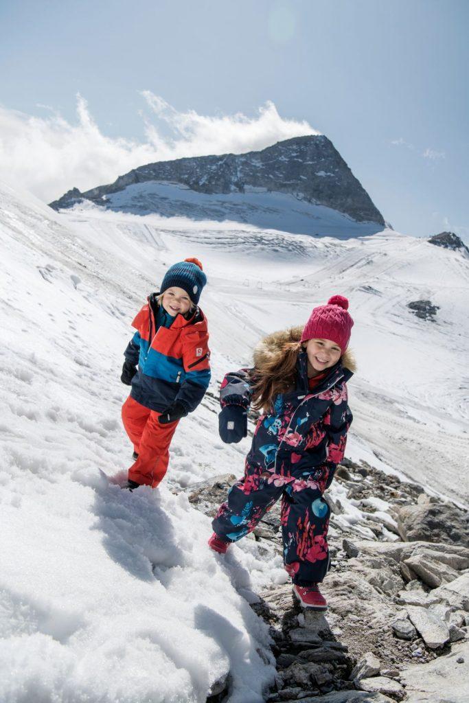 Reima Mountains detska chlapcenska lyziarska bunda