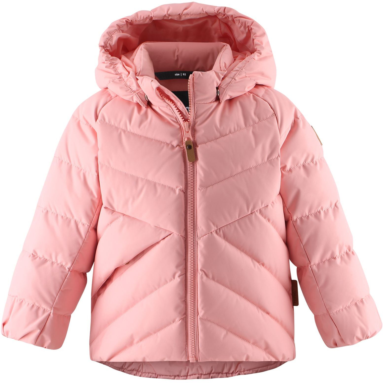 Reima Ayles - Powder Pink detska zimna ruzova dievcenska paperova bunda