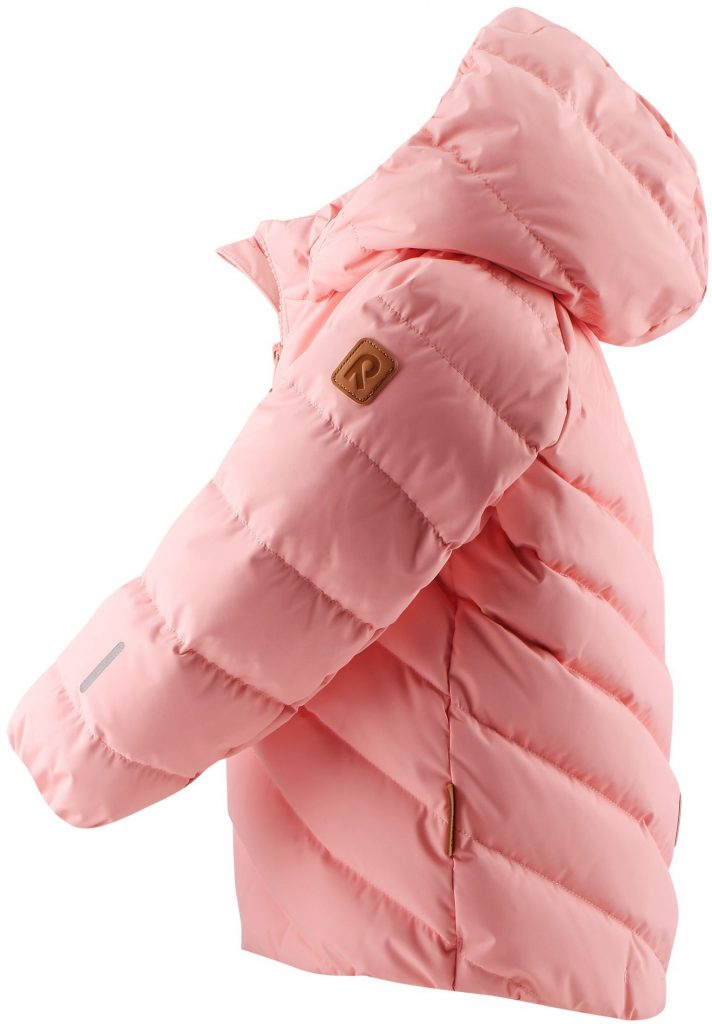 Reima Ayles - Powder Pink ruzova dievcenska paperova bunda 86 92 98 104
