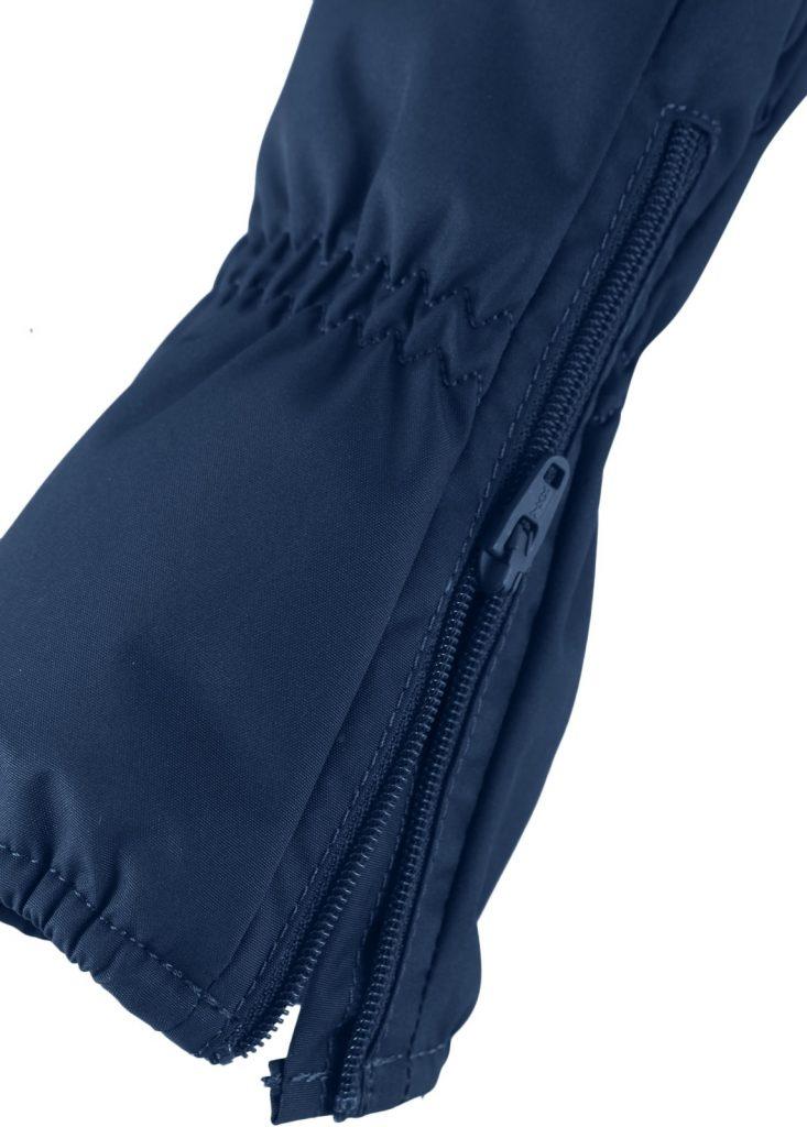 Reima Tassu - Navy detske zimne vodeodolne rukavice so zipsom