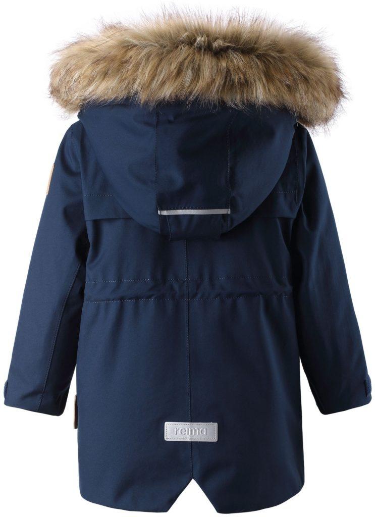 511299-6980 Reima Mutka navy zimna bunda pre deti