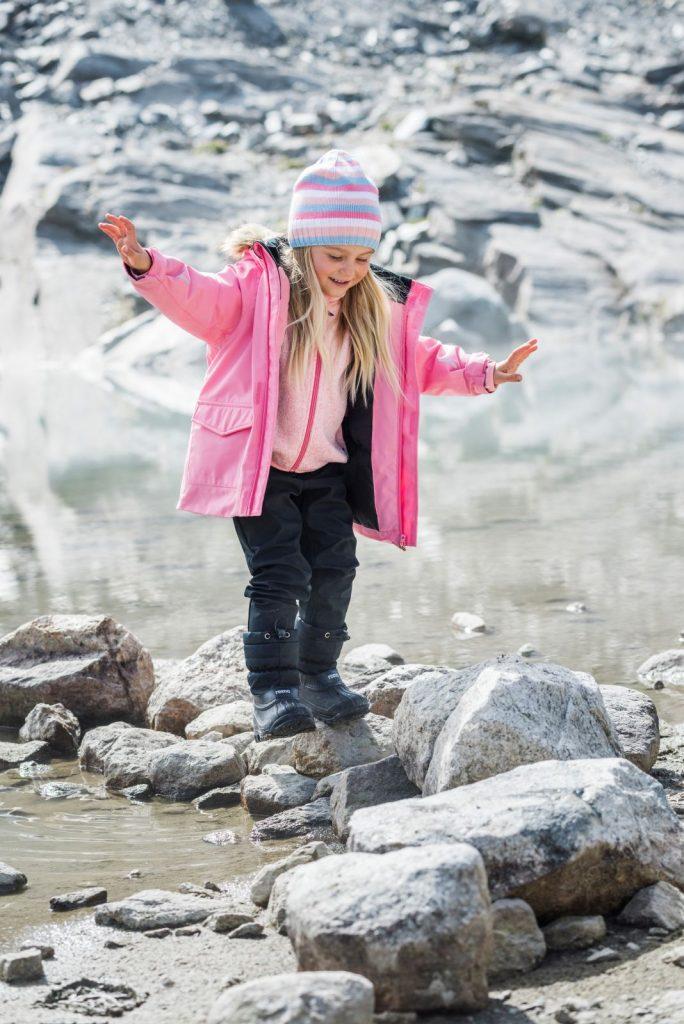 Reima Mutka modra detska zimna bunda 86 92 98 104 110