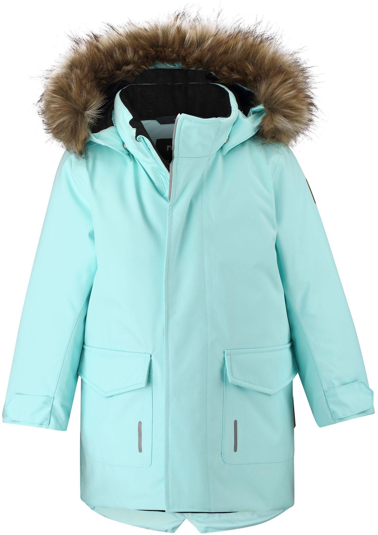 511299 Reima Mutka tyrkysova zimna bunda pre dievca
