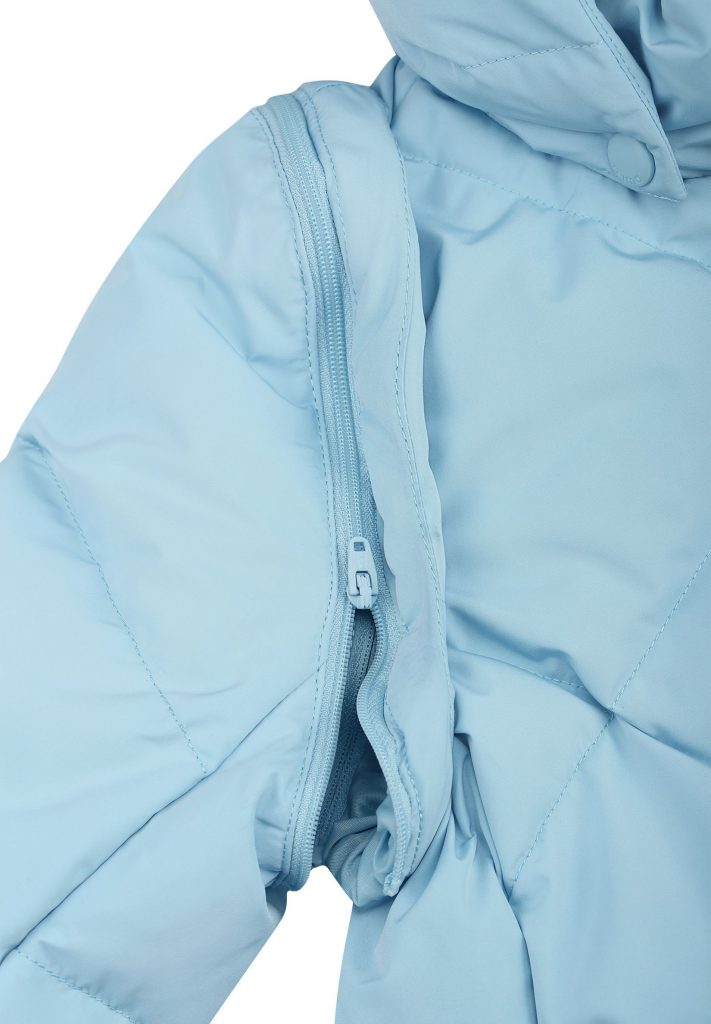 531484-6180 Reima Heiberg blue dream dievcenska zimna paperova bunda