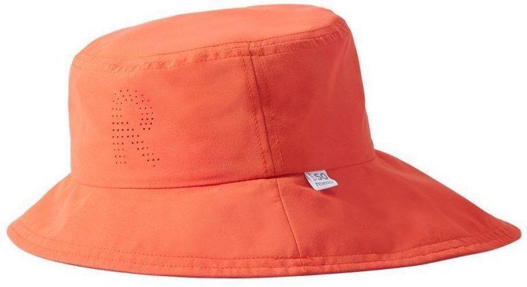 Reima Rantsu - Orange detsky klobuk s UV ochranou